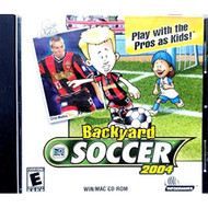 Backyard Soccer 2004 Play With The Pros As Kids! Software - EE719792