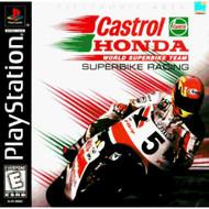 Castrol Honda Superbike Racing: For PlayStation 1 PS1 - EE719805