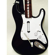 Rock Band 2 Wireless Guitar Fender Stratocaster Brown Neck For Wii - EE719818