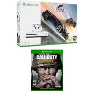 Xbox One S 1TB Console Forza Horizon 3 Call Of Duty WW2 Bundle - ZZ719838