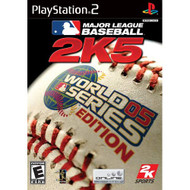 Major League Baseball 2K5 World Series Edition For PlayStation 2 PS2 - EE719888