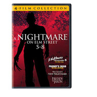 4 Film Favorites: Nightmare On Elm Street 5-8 Freddy Vs Jason Freddy's - EE719952