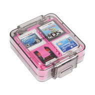 Official 16 Game Clear Case Pink For Nintendo DS - EE720047