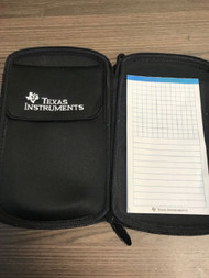 Authentic Five Star Texas Instruments Calculator Case With Notepad 5 - EE720139