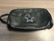 Dallas Cowboys Faux Leather Camcorder Soft Carrying Pouch Black Waist - EE720141