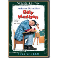 Billy Madison Full Screen Special Edition On DVD With Adam Sandler - EE720171