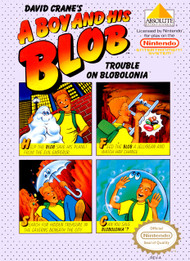 A Boy And His Blob: Trouble On Blobolonia For Nintendo NES Vintage - EE628665
