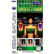 Virtual Casino For Sega Saturn Vintage - EE720332