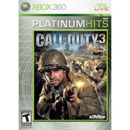 Call Of Duty 3 Platinum Hits For Xbox 360 COD Shooter - EE594724