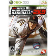 New Major League Baseball 2K9 Ingram Games Sports Video Game For Xbox  - EE530151