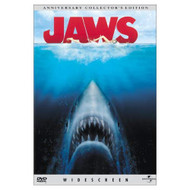 Jaws Widescreen Anniversary Edition On DVD With Roy Scheider - EE720411