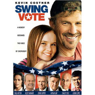 Swing Vote On DVD with Kevin Costner - DD581538
