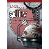 Saw IV Unrated Full Screen Edition On DVD With Tobin Bell Horror - EE720509