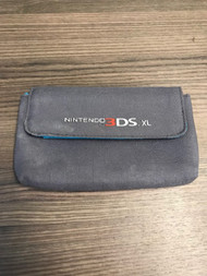 3DS XL Grey And Blue Soft Cloth Carrying Pouch Gray For DS Game FZP982 - EE720622