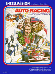 Auto Racing For Intellivision With Manual And Case - EE569370