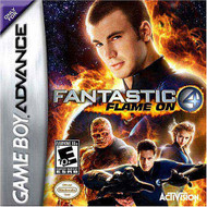 Fantastic 4: Flame On For GBA Gameboy Advance - EE627114