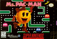 Ms Pac-Man For Super Nintendo SNES Puzzle - EE606044