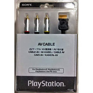 AV Cable Japan Import For PlayStation 2 PS2 Silver SCPH-10500 - EE720790