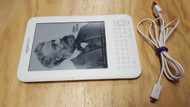 """Kindle Keyboard Wi-Fi 6"""" E Ink Display Tablet White D00901 - EE720899"""