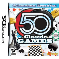 50 Classic Games For Nintendo DS DSi 3DS Board Games - EE573853
