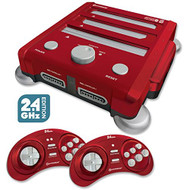 Hyperkin Retron 3 Video Game System For Nes/snes/genesis Red Console - EE720918