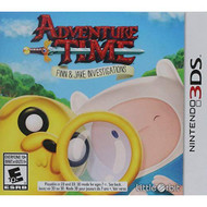 Adventure Time Finn And Jake Investigations Nintendo For 3DS - EE721361
