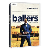 Ballers: The Complete Third Season On DVD Comedy - EE721534