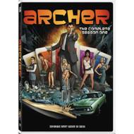 Archer: Season 1 On DVD With H Jon Benjamin Comedy - EE721535