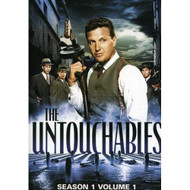 The Untouchables Season 1 Vol 1 On DVD With Robert Stack - EE721603