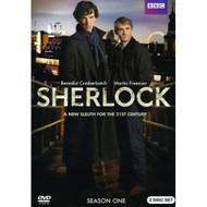 Sherlock: Season 1 On DVD With Benedict Cumberbatch Drama - EE721605
