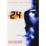 24: Season 1 On DVD With Kiefer Sutherland - EE721766