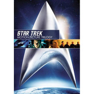 Star Trek: Motion Picture Trilogy Domestic On DVD With William Shatner - EE721912