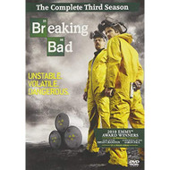 Breaking Bad Season 03 4 Discs On DVD With Bryan Cranston TV Shows - EE721928