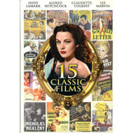 15 Classic Films Gift Box On DVD With Claudette Colbert - EE721948