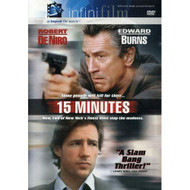 15 Minutes Infinifilm Edition On DVD With Robert De Niro Mystery - EE722483