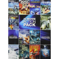 12-MOVIE Pack: Sci-Fi Action Pack On DVD - EE722612