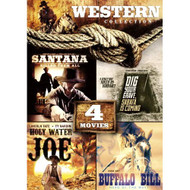 4-MOVIE Western Collection: Holy Water Joe / Dig Your Grave Sabata's - EE722653