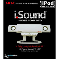 Akai iSound Portable Speakers For PSP UMD - EE722674