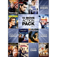 10-MOVIE Action Pack V.2 On DVD With Jackie Chan - EE722684