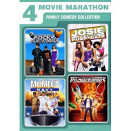 4 Movie Marathon: Family Comedy Collection Adventures Of Rocky And - EE722699