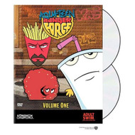 Aqua Teen Hunger Force Volume One On DVD With Schooly D Anime - EE722722