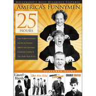 25-HOURS Of America's Funnymen V.1 On DVD With Charlie Chaplin Comedy - EE722724