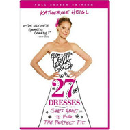 27 Dresses Full Screen Edition On DVD With Katherine Heigl Comedy - EE722727