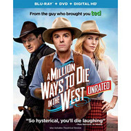 A Million Ways To Die In The West Blu-Ray On Blu-Ray With Seth - EE723052