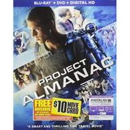 Project Almanac Blu-Ray On Blu-Ray With Sam Lerner - EE723065