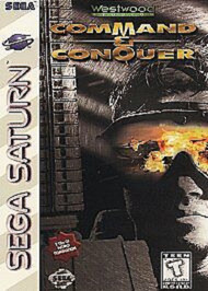 Command And Conquer For Sega Saturn Vintage Strategy - EE723402