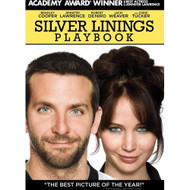 Silver Linings Playbook On DVD With Bradley Cooper Comedy - EE723420