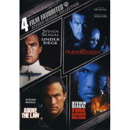 4 Film Favorites: Steven Seagal Above The Law Fire Down Below The - EE723468