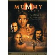 The Mummy Returns Widescreen Edition On DVD With Brendan Fraser Horror - EE723502