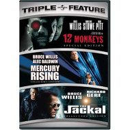 12 Monkeys / Mercury Rising / The Jackal Three-Pack On DVD With Bruce - EE723720